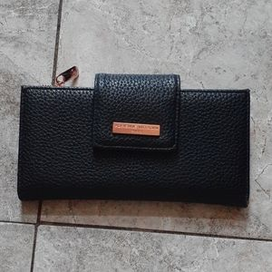 Adrienne Vittadini rose gold and black wal…